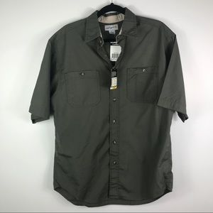Carhartt NWT casual button down shirt sleeve shirt